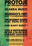 SOIREE REGGAE PROTOJE + SKARRA MUCCI + PAPA STYLE + MUNGO'S HIFI