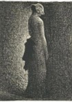 Dessins de Georges Seurat et des artistes néo-impressionnistes