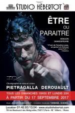 Pietragalla-Derouault - Être ou paraître