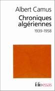 Chroniques algériennes 1939-1958