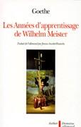 Les années d'apprentissage de Wilhelm Meister