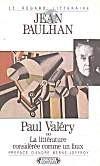 Paul Valery ou la littérature considérée