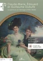 Claude-Marie, Edouard et Guillaume Dubufe : la peinture en héritage (1790-1909)