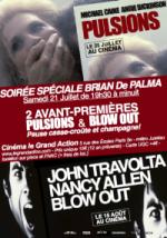 Pulsions et Blow Out de Brian De Palma