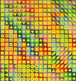 Victor Vasarely : de l'œuvre peint à l'œuvre architecturé