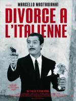 Divorce à l'italienne - Affiche