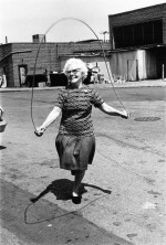 Isabel Croft Jumping Rope, Brooklyn, NY, 1972