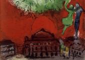 Anniversaire : quand Chagall peignait à l'Opéra Garnier