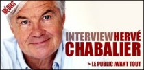 INTERVIEW D'HERVE CHABALIER