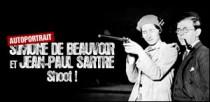 UN AUTOPORTRAIT DE SIMONE DE BEAUVOIR ET JEAN-PAUL SARTRE