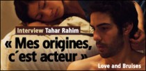 INTERVIEW TAHAR RAHIM