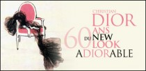 CHRISTIAN DIOR, 60 ANS DU NEW LOOK