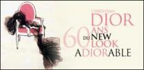 CHRISTIAN DIOR, 60 ANS DU NEW LOOK