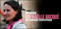 INTERVIEW DE RAPHAELLE BACQUE