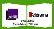 Prix du livre France Culture - Télérama