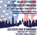 Les Ecrivains en Provence 2009