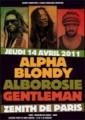 Alpha Blondy, Alborosie & Gentleman