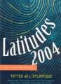 Latitudes 2004  - Terres de l'Atlantique