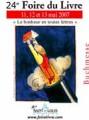 24e Foire du livre de Saint-Louis