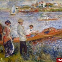 'Les Canotiers à Chatou', Renoir, 1879