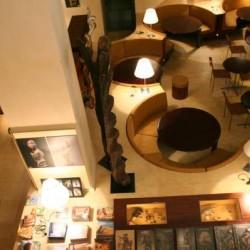 Espace librairie et restaurant