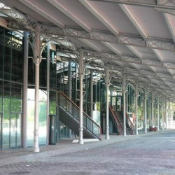 Structure de l'ancienne halle aux boeufs