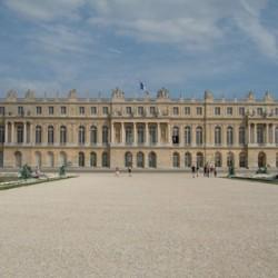 Château de Versailles côté jardin