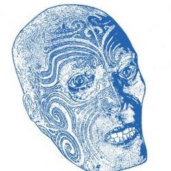 Gravure de la tête maorie