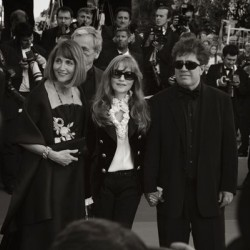 Isabelle Huppert (au milieu) - Cannes 2007