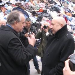 Christian Boltanski et Frédéric Mitterrand, Monumenta