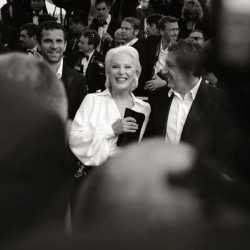 Alain Chabat et Bernadette Lafont, Cannes 2007