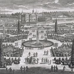 """2013 : L'Année Le Nôtre. """"Adam Perelle (1640-1695) - Le Parterre de l'Orangerie"""""""