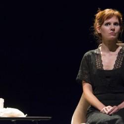 Florence Le Corre dans le rôle de Célestine dans Le journal d'une femme de chambre