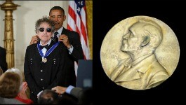 Bob Dylan : prix Nobel de littérature absent à Stockholm