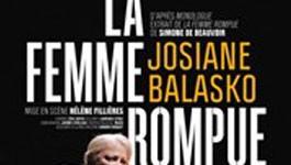 Josiane Balasko sur les planches
