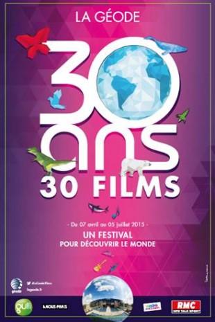 La Géode 30 ans - 30 films
