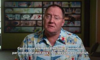 "Introduction de John Lasseter à l'exposition ""Pixar, 25 ans d'animation"""