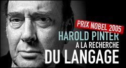 HAROLD PINTER PRIX NOBEL DE LITTERATURE