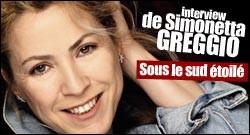 INTERVIEW DE SIMONETTA GREGGIO