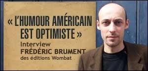 INTERVIEW FRÉDÉRIC BRUMENT