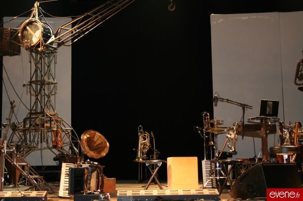 Sur la scène de l'espace J. Verne de Montbéliard