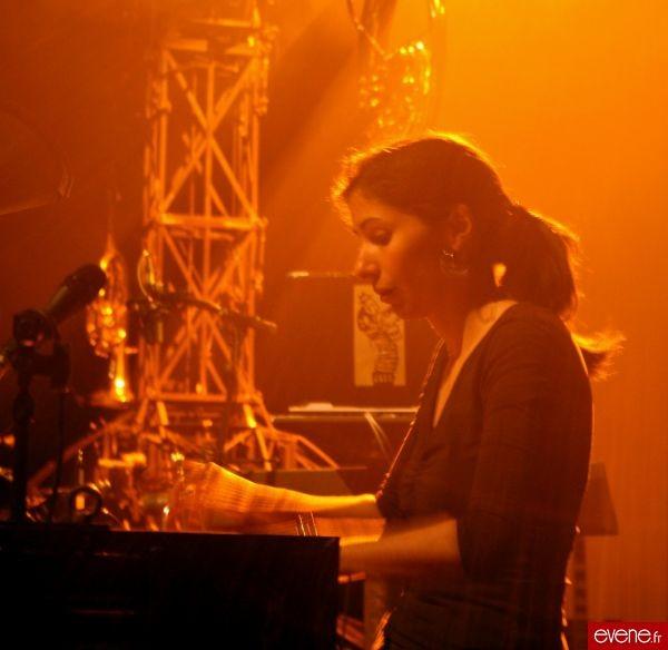 Mathilde au piano