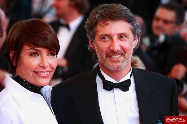 Antoine de Caunes et Daphné Roulier, Cannes 2007