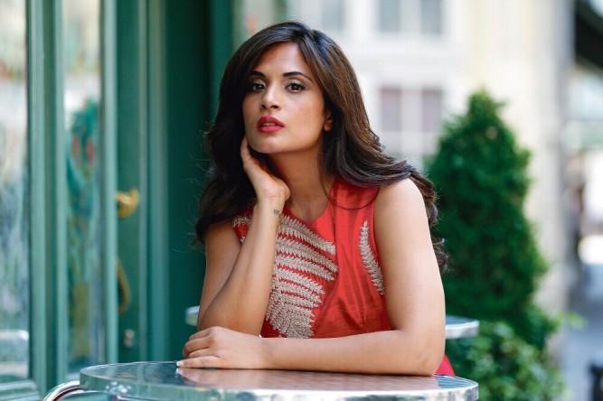Richa Chadda, début juin 2015 à Paris.
