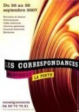 Les Correspondances de Manosque 2007