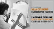 EXPOSITION VIJA CELMINS LOEUVRE DESSINE AU CENTRE POMPIDOU