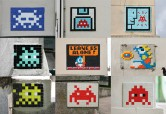  bord du Space Invader Tour