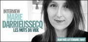 INTERVIEW DE MARIE DARRIEUSSECQ