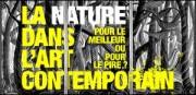 LA NATURE DANS L'ART CONTEMPORAIN