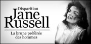 JANE RUSSELL, LA BRUNE PREFEREE DES HOMMES